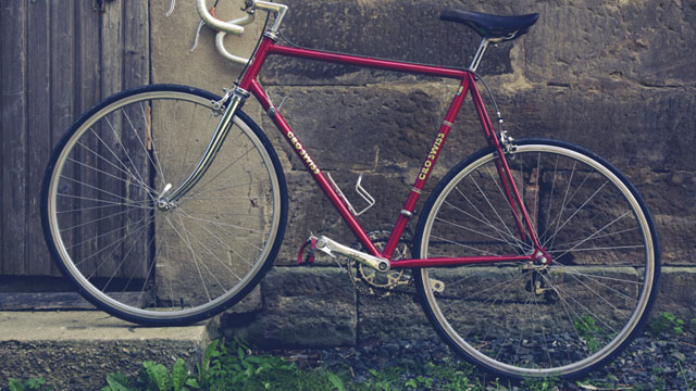 Look! This is A Red Bicycle