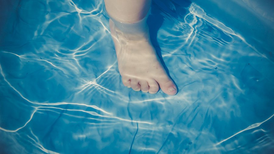Toddlers Take to Swimming, Learn Survival Skills