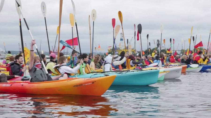 Greenpeace Celebrate Forty-Five Years of People Power